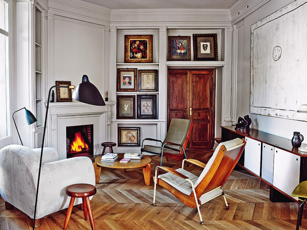 Theres So Much To Admire Here From The Patina Of Those Herringbone Parquet Floors