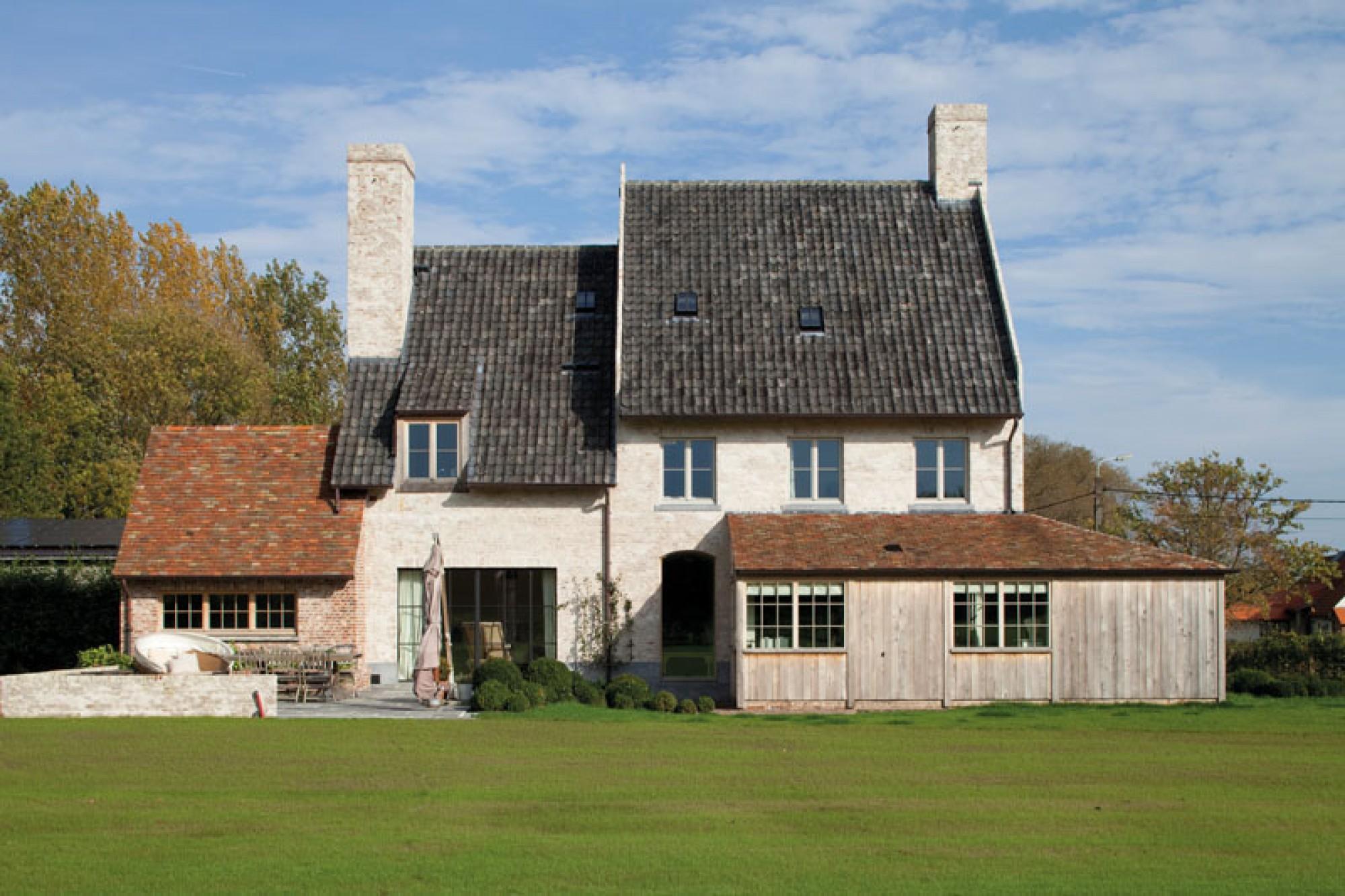 House in belgium for Landelijke stijl interieur