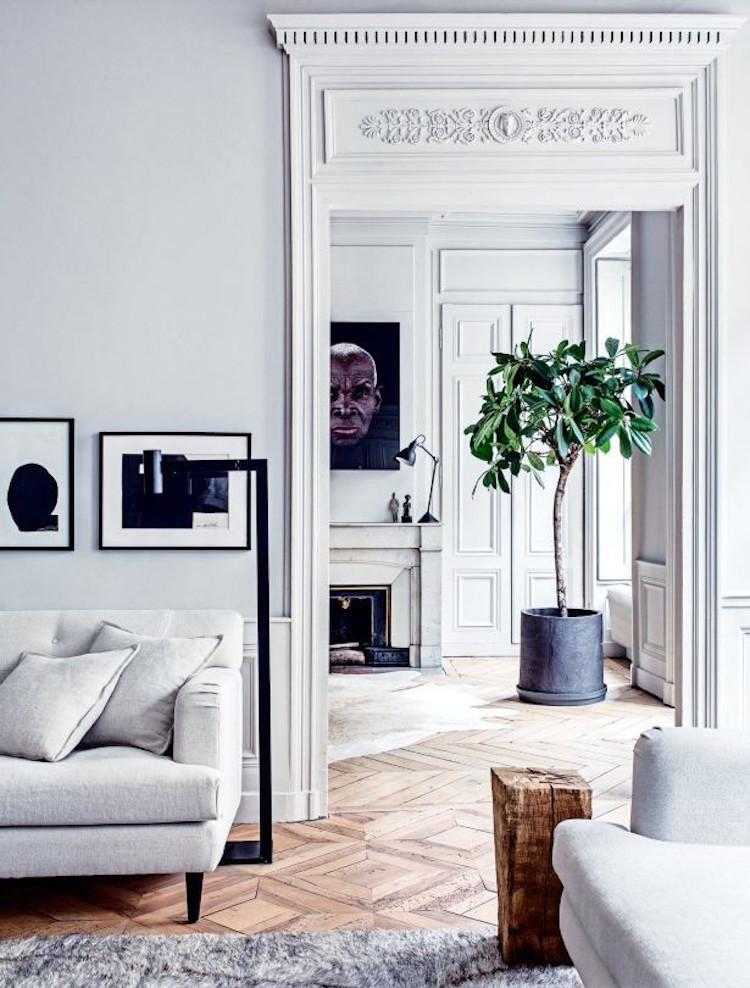 Lyon apartment, photo by Felix Forest.