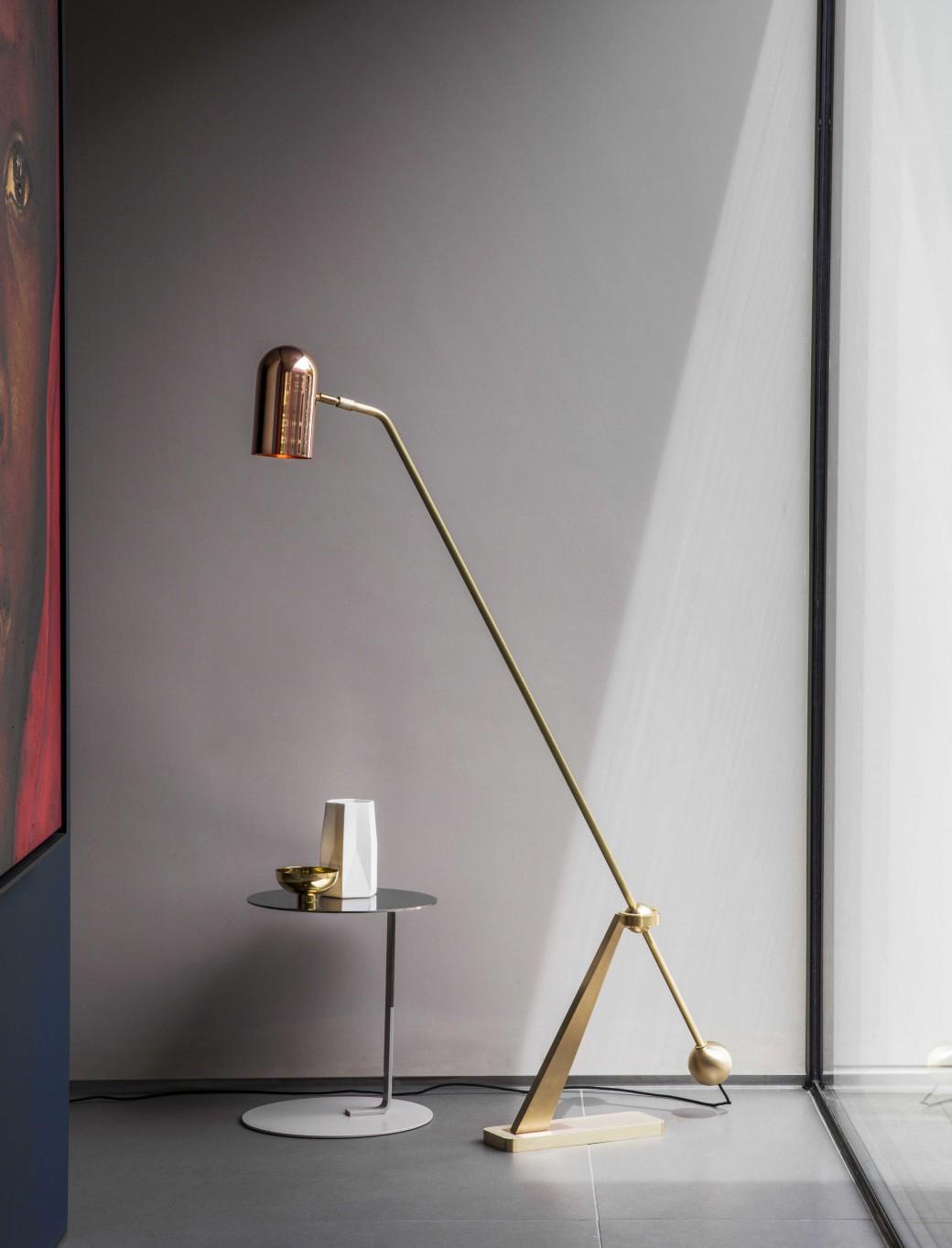 BERT FRANK STASIS FLOOR LAMP SMALL c