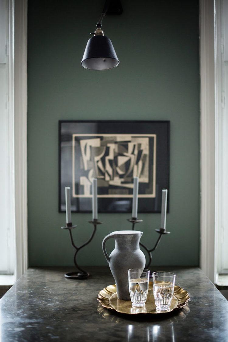 Stockholm apartment, photo by Johan Sellen.
