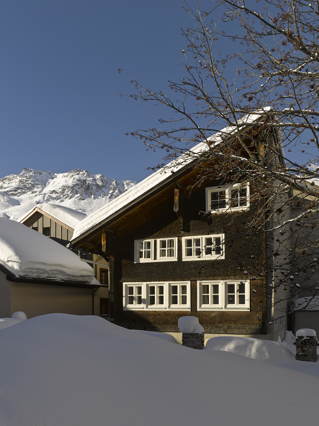 Alpine Chalet, Andermatt, Switzerland, available through The Modern House.