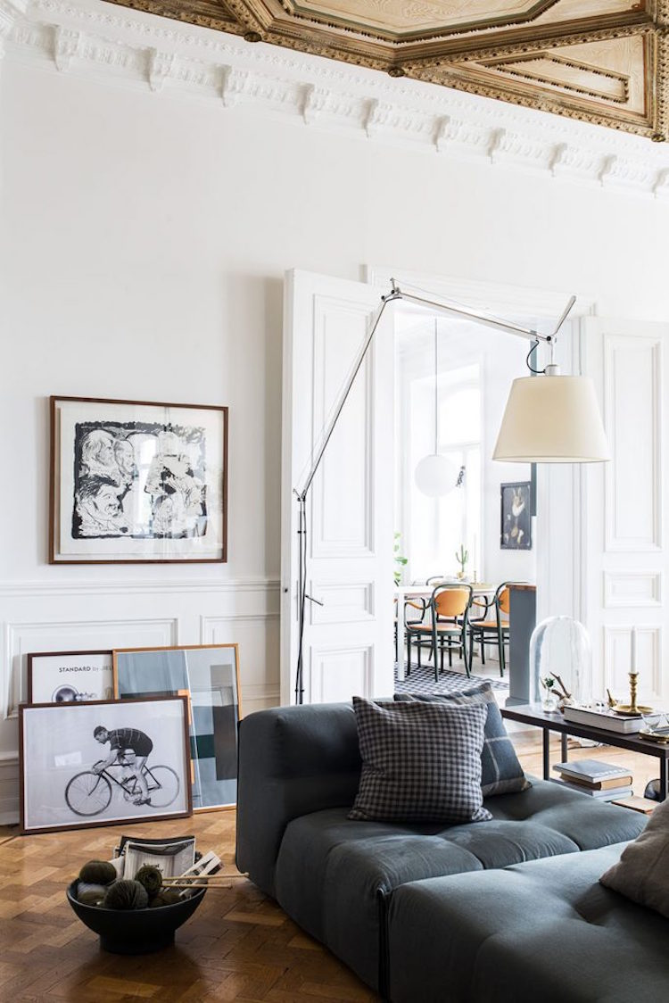 Gothenburg apartment, photo by Johanna Hagbard.