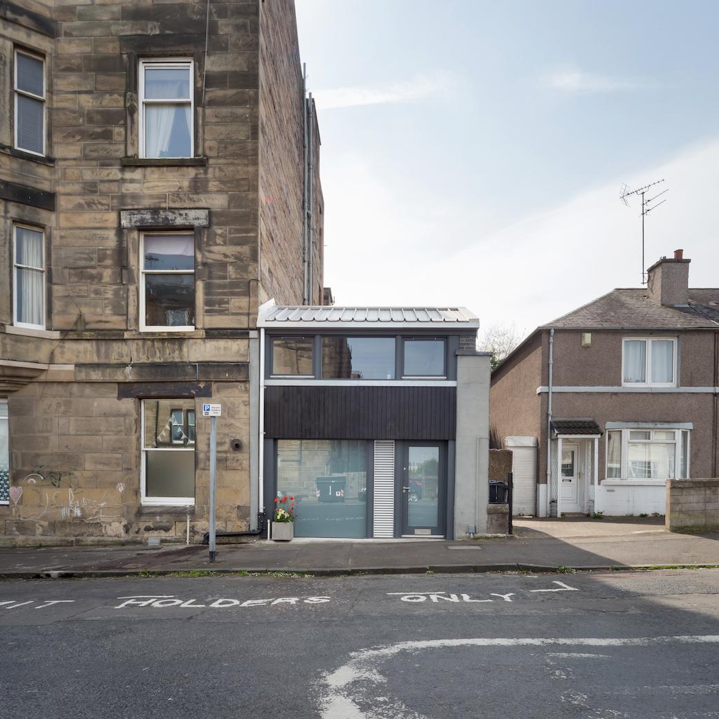 West Annandale Street, Edinburgh, by Tim Bayman Architecture. Photo by Dave Morris.
